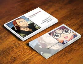 #36 para Design some Business Cards for anime site por youart2012