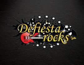 #40 para Diseñar un logotipo para defiesta.rocks por hiteshtalpada255