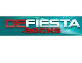 #43 para Diseñar un logotipo para defiesta.rocks por Nkbal