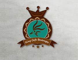 #77 untuk Design a Logo for King Cafe Beverages oleh runoyumi