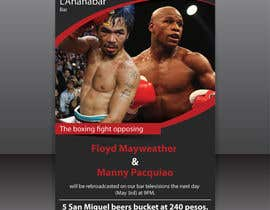 #1 for Boxing event flyer af igraphicdesigner
