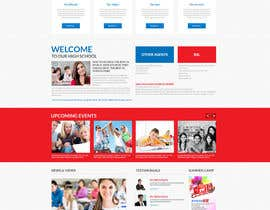#4 for Design a homepage for an educational company by SmartArtStudios