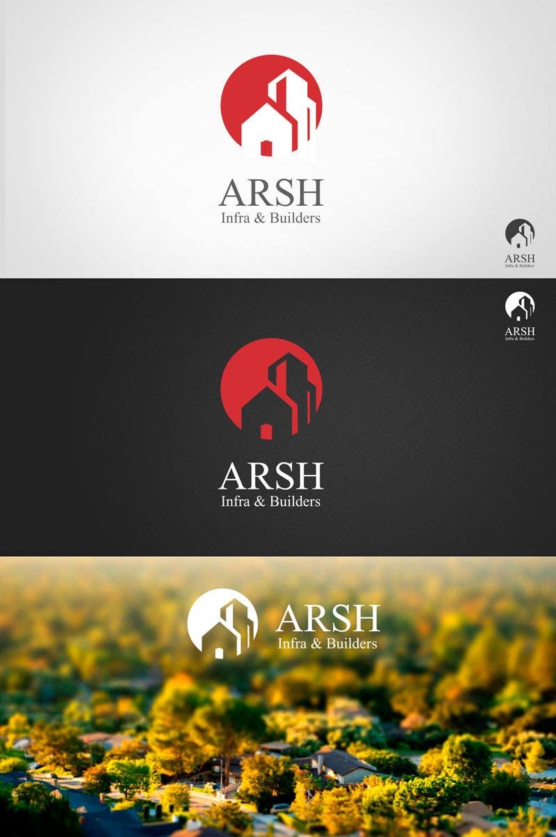 """Inscrição nº 86 do Concurso para Design a Logo for """"Arsh Infra & Builders"""""""
