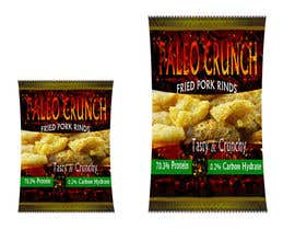 #10 cho Snack food packaging bag design front. bởi vinkisoft