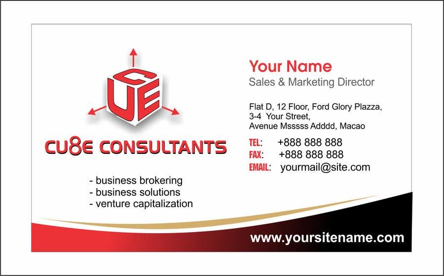 Penyertaan Peraduan #138 untuk Business card design