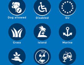#2 for Design 15 Icons for a beach website by adilansari11