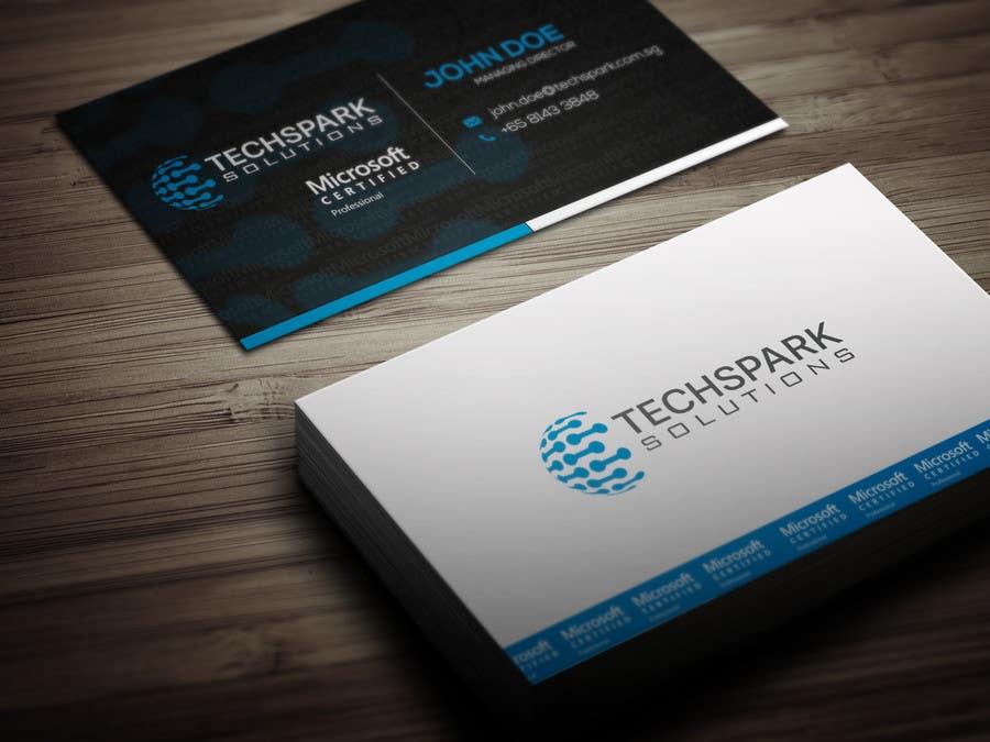 Konkurrenceindlæg #                                        3                                      for                                         Design business card