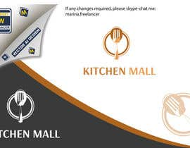 #6 for Design a Logo for KITCHEN MALL -- 3 af MarinaWeb
