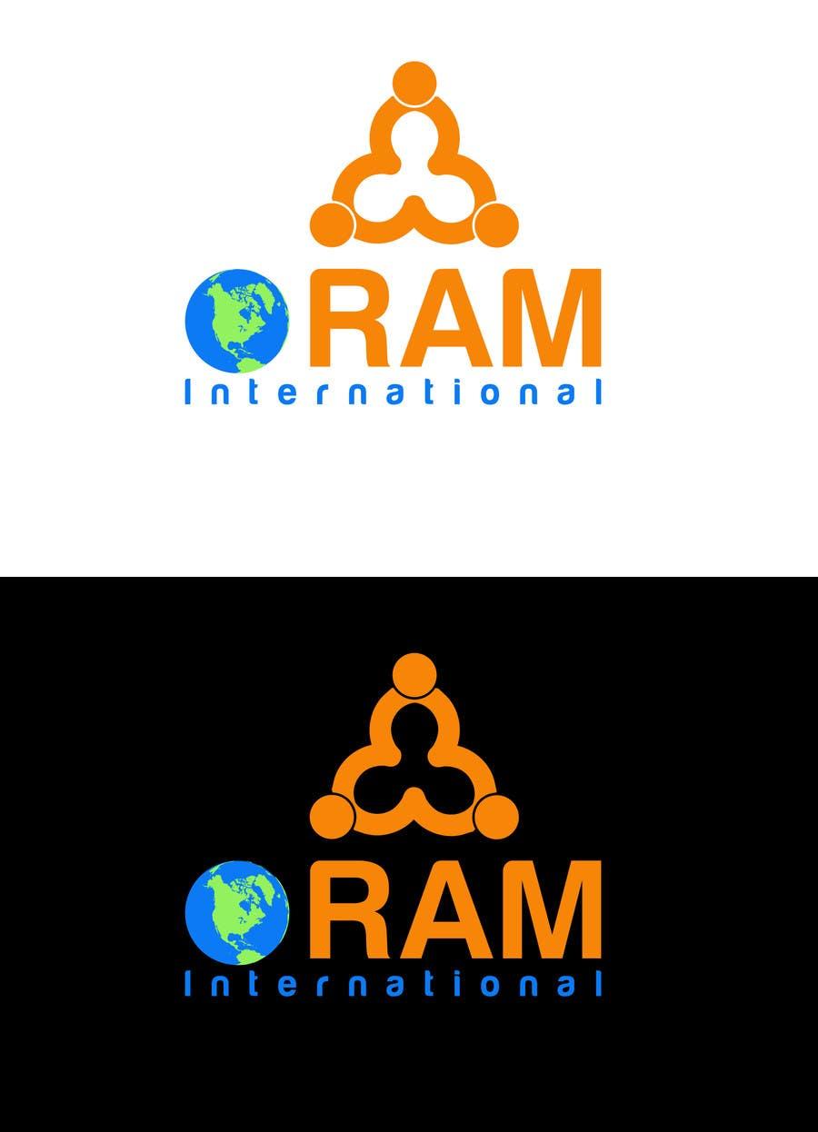Proposition n°                                        7                                      du concours                                         Design a Logo for ORAM International