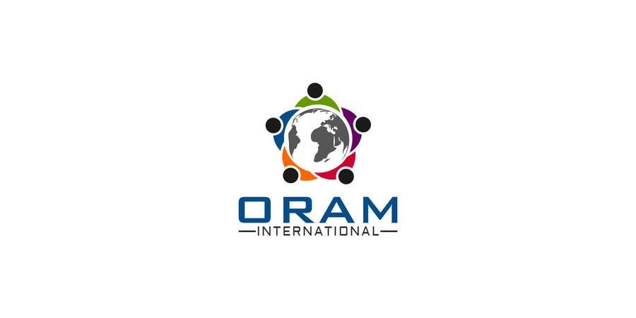 Proposition n°                                        101                                      du concours                                         Design a Logo for ORAM International