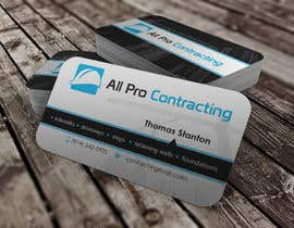 #41 for Design some Business Cards for All Pro Contracting af youart2012