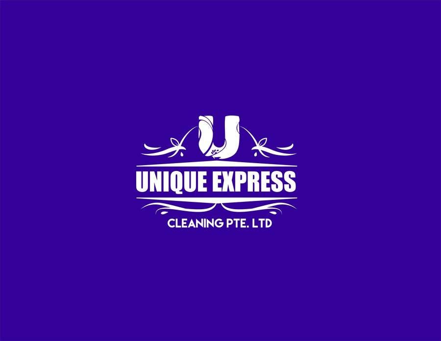 Penyertaan Peraduan #22 untuk Design a Logo for UNIQUE EXPRESS CLEANING PTE. LTD.,