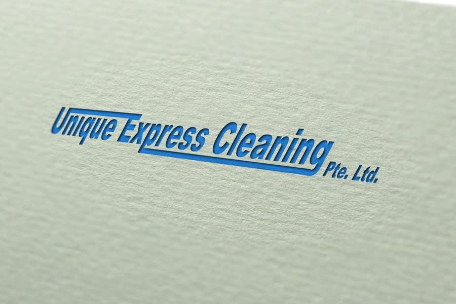 Konkurrenceindlæg #                                        20                                      for                                         Design a Logo for UNIQUE EXPRESS CLEANING PTE. LTD.,