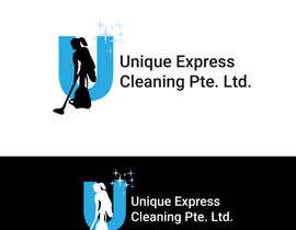 #7 untuk Design a Logo for UNIQUE EXPRESS CLEANING PTE. LTD., oleh robertlopezjr