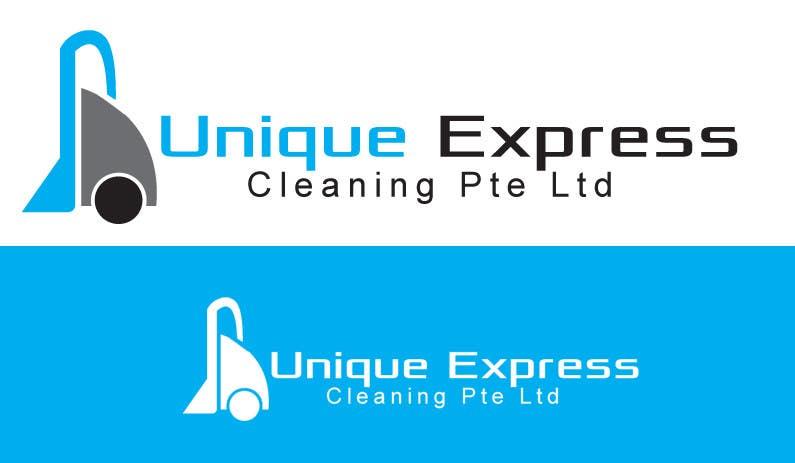 Konkurrenceindlæg #                                        12                                      for                                         Design a Logo for UNIQUE EXPRESS CLEANING PTE. LTD.,