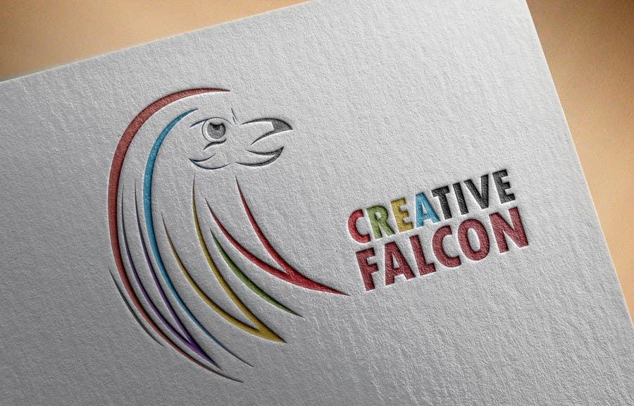 Proposition n°                                        80                                      du concours                                         Design a Logo for Creative Falcon