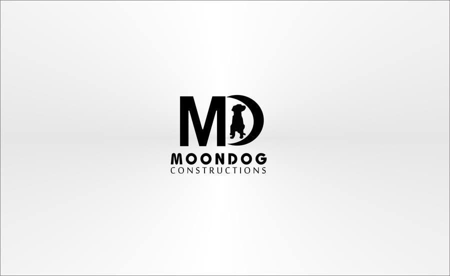Inscrição nº 95 do Concurso para Design a Logo for MOONDOG CONSTRUCTIONS