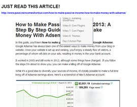 nº 10 pour Create an AdSense Website with daily income of $80-100 par robertlopezjr