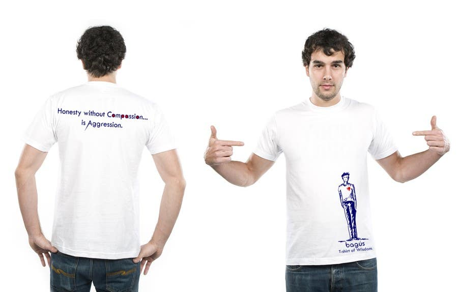 Proposition n°                                        25                                      du concours                                         Illustrate and add in a nice font Bagús T-shirt of Wisdom