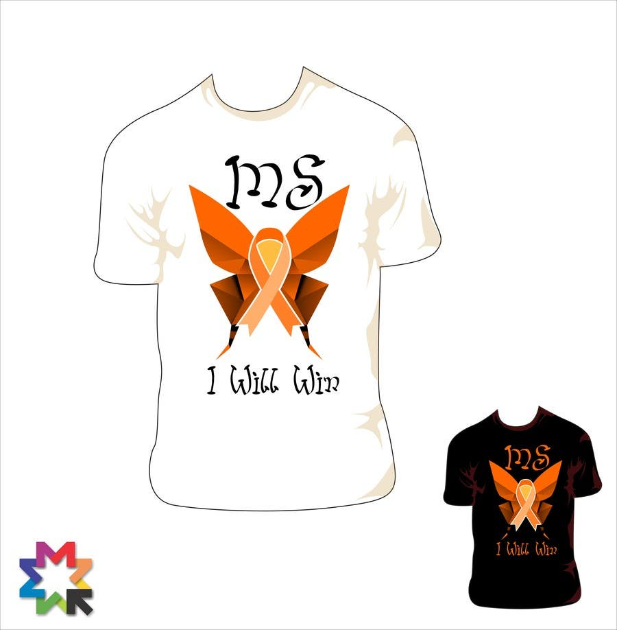 Entry 14 By Sergiocossa For Design A T Shirt For Ms Awareness