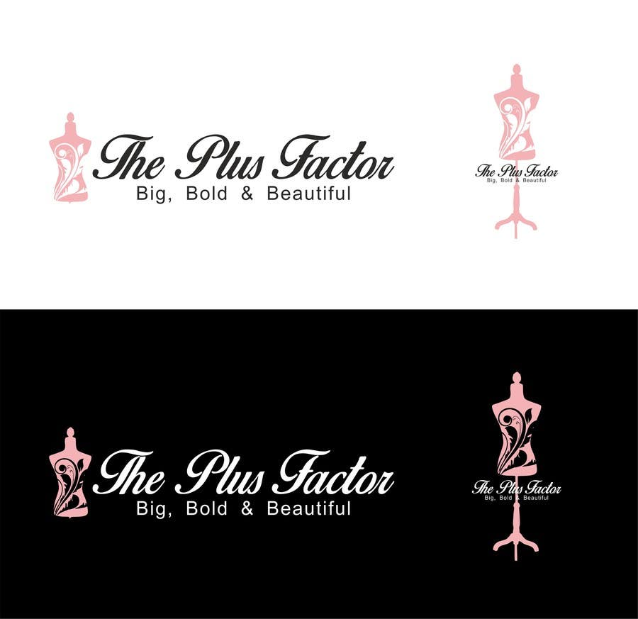 Contest Entry #11 for Design a Logo & corporate identity for a Plus Size clothings fashion shop