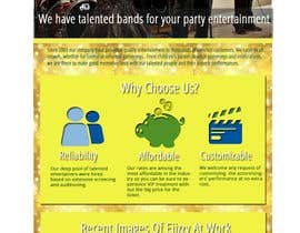 #24 para Design a Website Mockup for Entertainment Industry por rlrcbprog
