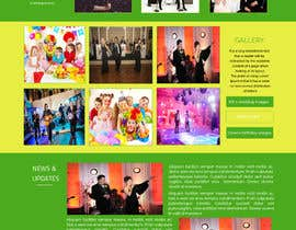 #12 for Design a Website Mockup for Entertainment Industry af ravinderss2014