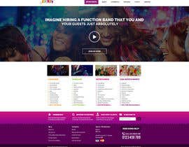 #3 para Design a Website Mockup for Entertainment Industry por doubledude