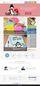Nro 11 kilpailuun Design a Homepage Mockup käyttäjältä ankisethiya