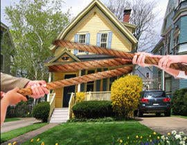 #2 for Creative photomontage of two hands fighting for a house 400x400 by adripoveda
