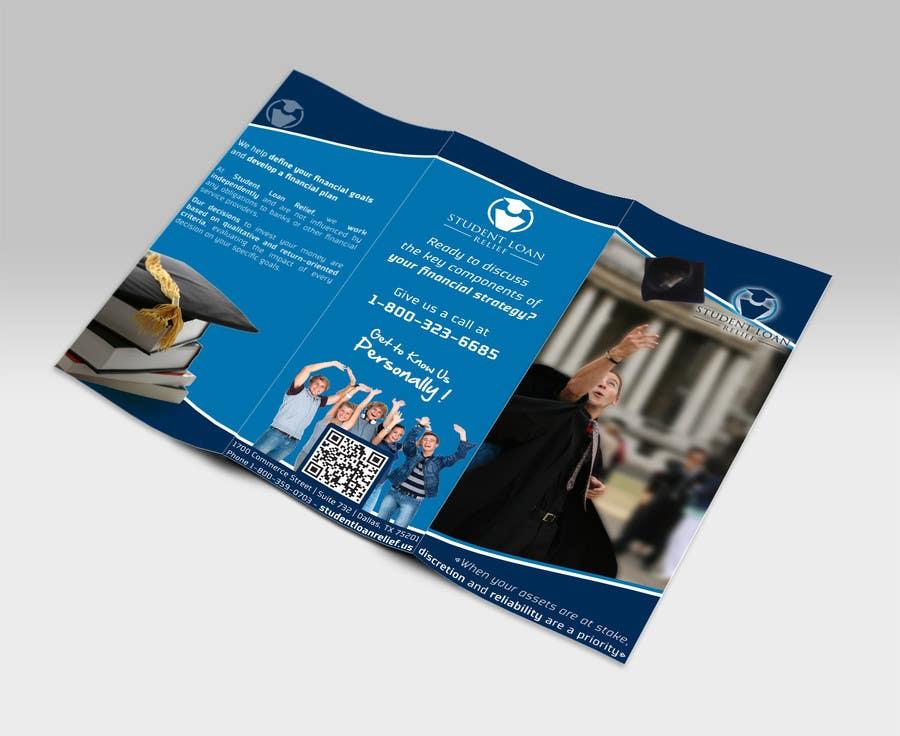 Bài tham dự cuộc thi #                                        20                                      cho                                         Create a Brochure Student Loan Relief, Inc