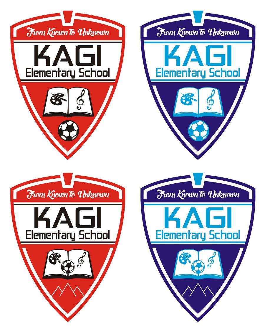 Konkurrenceindlæg #9 for Design a Logo for Kagi Elementary School