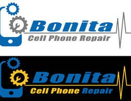 #67 for Design a Logo for Bonita Cell Phone Repair by talhafarooque