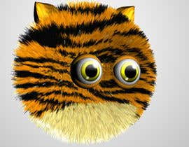 #15 cho 3d Modeling of Cute and Fuzzy Animal Fur-ball Characters bởi tkarlington