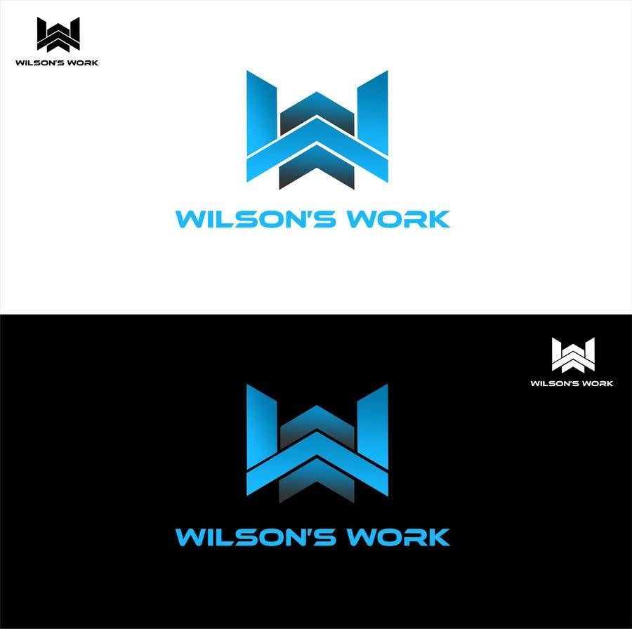 """Penyertaan Peraduan #99 untuk Design a logo for """"WILSON's WORK"""""""
