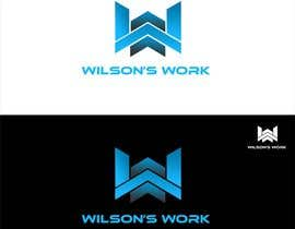 "#99 para Design a logo for ""WILSON's WORK"" por hubbak"