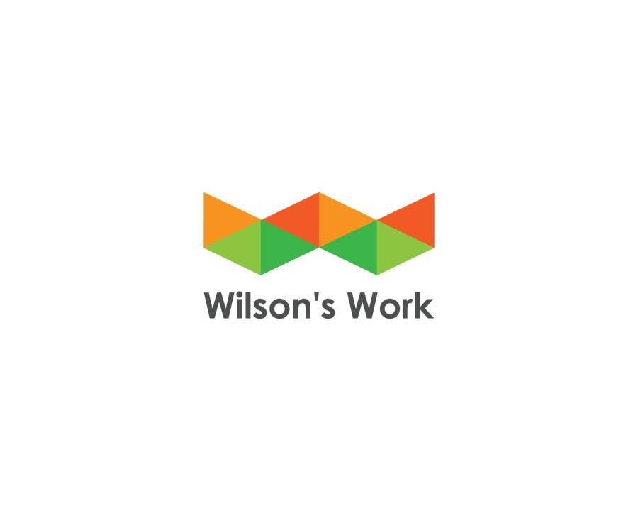 """Penyertaan Peraduan #28 untuk Design a logo for """"WILSON's WORK"""""""