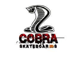 #24 for Design a Logo for Cobra Skateboards by indunil29