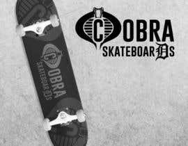Nro 2 kilpailuun Design a Logo for Cobra Skateboards käyttäjältä LiviuGLA93