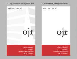 #25 untuk Design some Business Cards for a professional-services company oleh marcgreenberg
