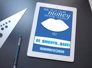 """Graphic Design Konkurrenceindlæg #11 for Design a postcard with theme """"We put our money where your mouth is!"""""""