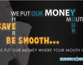 "#1 untuk Design a postcard with theme ""We put our money where your mouth is!"" oleh tpwdesign"