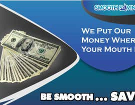 "#20 para Design a postcard with theme ""We put our money where your mouth is!"" por tpwdesign"