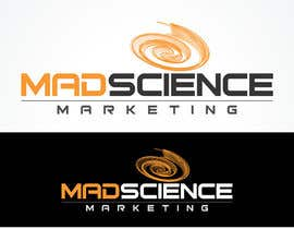 honeykp tarafından Logo Design for Mad Science Marketing için no 490