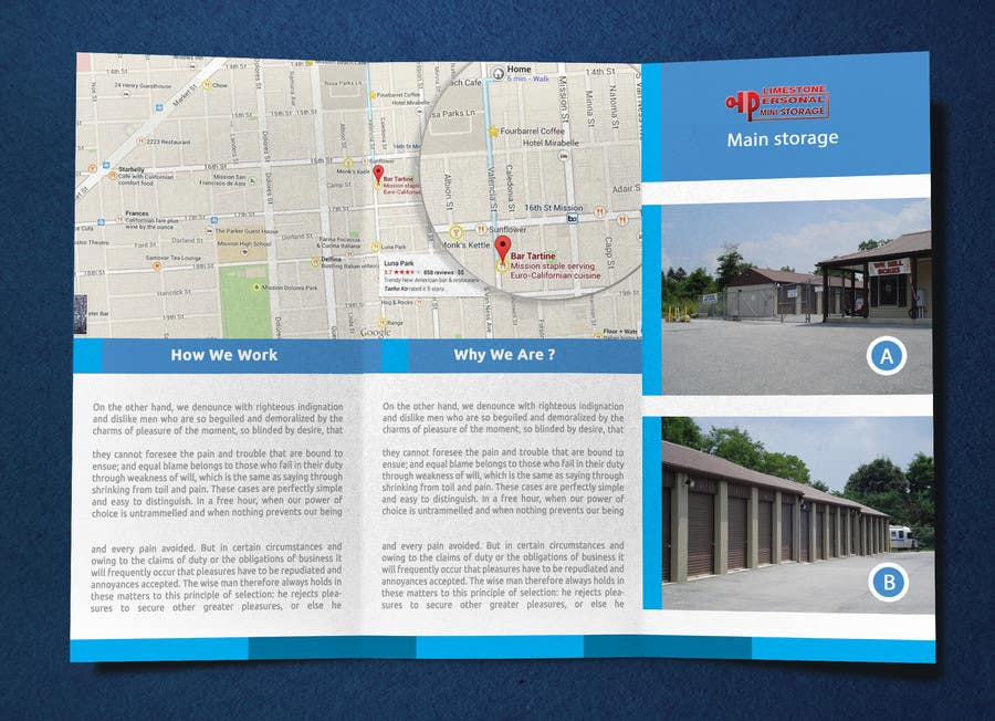 Contest Entry #                                        3                                      for                                         Design a Tr-Fold Brochure for Storage Company