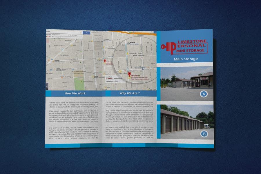 Bài tham dự cuộc thi #12 cho Design a Tr-Fold Brochure for Storage Company