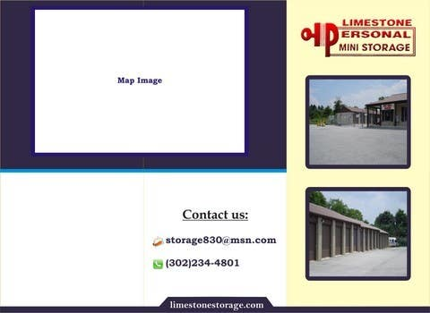Contest Entry #                                        10                                      for                                         Design a Tr-Fold Brochure for Storage Company