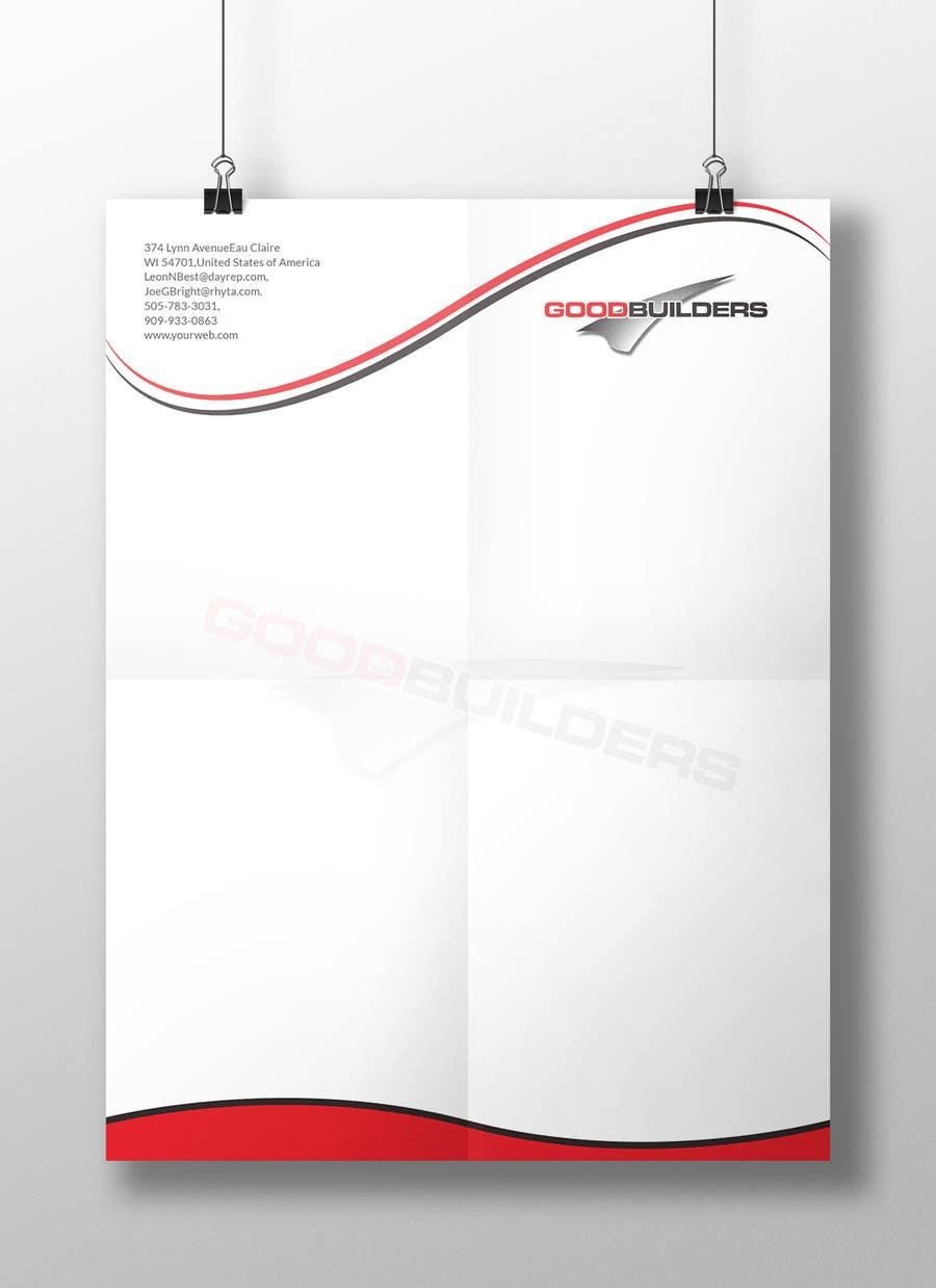 Kilpailutyö #78 kilpailussa Design me a Letter Head!