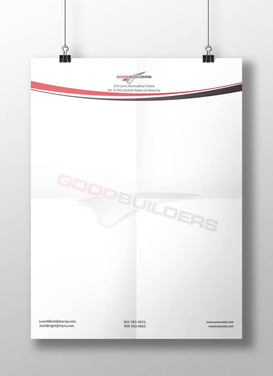 Penyertaan Peraduan #80 untuk Design me a Letter Head!