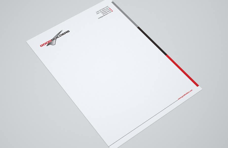 Kilpailutyö #34 kilpailussa Design me a Letter Head!